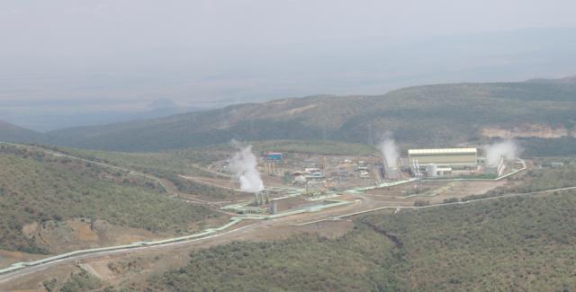 Olkaria Geothermal Power Plant, Naivasha, Kenya
