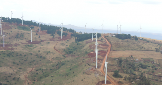 Ngong Hills Windfarm