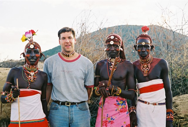 Fieldwork with Samburu warriors