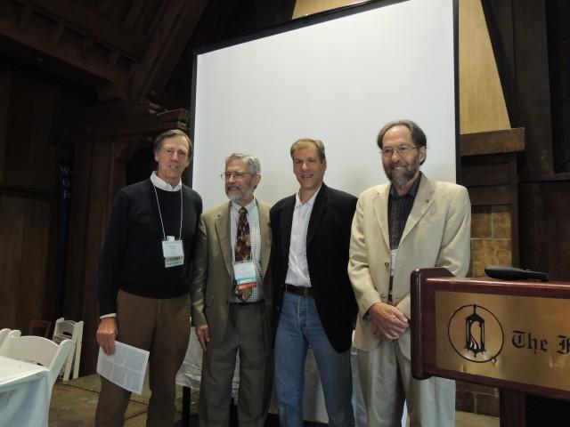 Fraker, Holdren, Kammen, Harte at the Big Event