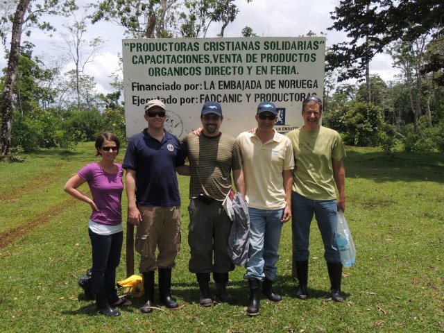 Visiting a social forestry project in Pearl Lagoon, Nicaragua